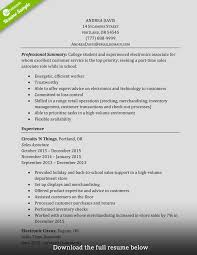Resume Samples For Retail Sales Associate by Sales Associate Resume Examples Free Resume Example And Writing