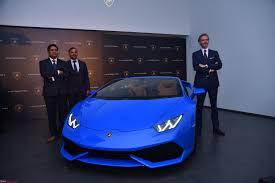 lamborghini sports car price in india lamborghini to launch huracan spyder in india on may 5 2016