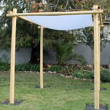 bamboo chuppah rent bamboo wedding chuppah just 4 party rentals santa barbara