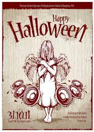 Halloween Poster Template Vector Free Download