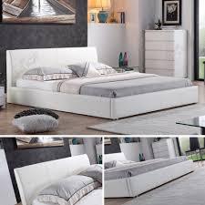 Betten Schlafzimmer Amazon I Flair Designer Polsterbett Bett Monaco 160cm X 200cm Weiß