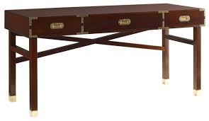 grant mahogany campaign desk tables dering hall
