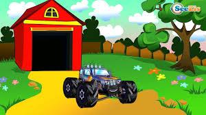 monster truck for children cartoon monster trucks for children fire truck and garbage truck in