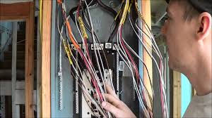 how to wire an electrical panel square d youtube