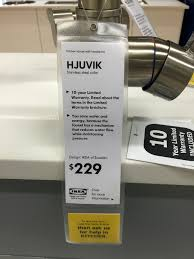 ikea hjuvik faucet firstlook rainydaymagazine