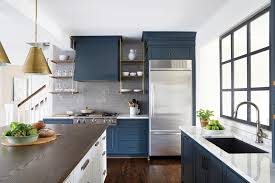 slate blue painted kitchen cabinets amazing slate blue cabinets with gold hardware hupehome