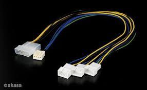 chassis fan connector splitter akasa buy pwm splitter smart fan cable online in dubai uae