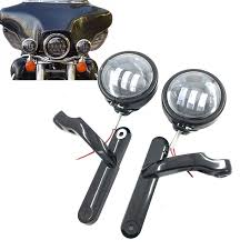harley davidson lights accessories for harley davidson motorcycle parts 4 5 led auxiliary fog passing
