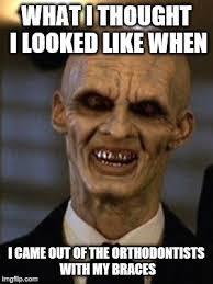 Brace Face Meme - brace face meme funny image photo joke 01 quotesbae