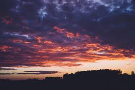Sunset Orange by Sunrise Sunset Clouds Orange Pink U2014 Bossfight