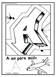 alphabet coloring pages in spanish spanish alphabet coloring pages alphabet coloring pages adult