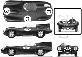 sports cars drawings d type jaguar official drawings