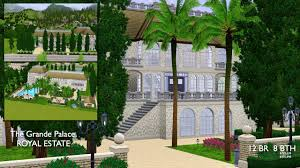 Sims 3 Garden Ideas Mod The Sims The Grand Palace 12br 8bth Royal Estate