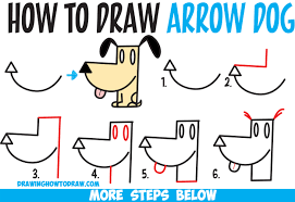 easy drawings of dogs step by step