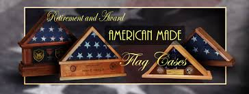 Triangle Flag Case Retirement Flag Cases Gallery By Greg Seitz Woodworking