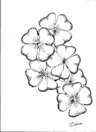 4 leaf clover drawing how to draw a four leaf clover youtube