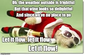 Christmas Dog Meme - christmas drunk dog imgflip