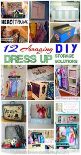 12 amazing diy dress up storage solutions that will help tidy up