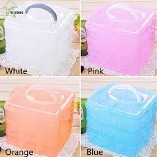 yi hong detachable diy storage box transparent plastic storage box
