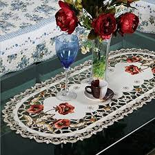 Coffee Table Linens by Coffee Tablecloth Amazon Com