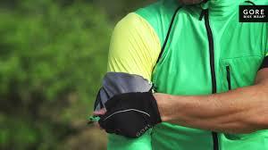 hi vis softshell cycling jacket alp x pro windstopper soft shell zip off jersey by gore bike wear