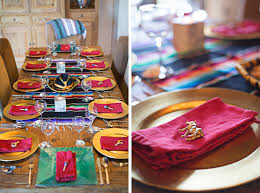 Mexican Table Runner Party Planning How To Host A Bachelorette Fiesta Weekend Lauren