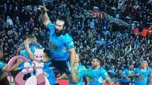 Nsw Blues Memes - aaron woods airswing goes viral after blues victory the border mail