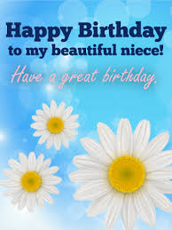 to my beautiful niece happy birthday card elaine klimkowski