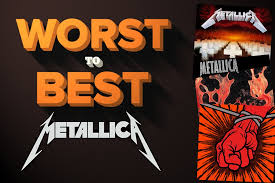best photo album metallica albums ranked worst to best
