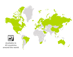 Latin America Countries Map by Tomtom Expands Its Traffic Service In Latin America Business Wire