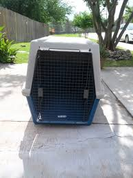 giant plastic dog crate by furrarri up to 85lbs for sale in