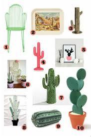 cactus home decor shop the trend cactus home decor around the houses