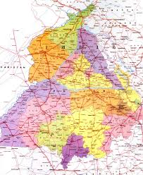 Punjab Map Amritsar How To Reach
