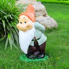 Cool Garden Ornaments Cool Creative Handmade Resin Gnome Figurine Garden Decorations