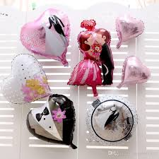 valentines day balloons wholesale 18inch aluminum foil balloons heart shaped s day wedding
