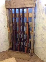 wall mount gun hangers standing gun rack plans google search carpentry pinterest