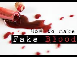 edible blood blood recipe without corn syrup edible