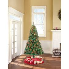 artificial christmas trees multi colored lights holiday time pre lit 6 5 madison pine artificial christmas tree