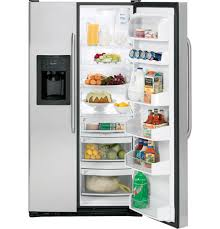 ge adora 25 4 cu ft stainless side by side refrigerator