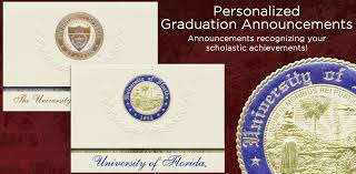 formal college graduation announcements signature announcements