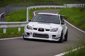 subaru gc8 widebody time attack sti