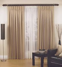 fresco of inverted pleat drapes that will smarten your window