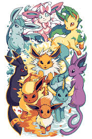 eeveelutions pokemon sleeve 14 by h0lyhandgrenade on deviantart