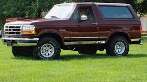 bronco car 1996 1996 ford bronco xlt u125 st charles 2011