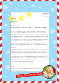 letters from santa template 28 images easy free letters from