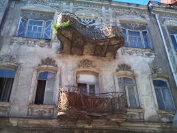 Art Deco Balcony by Exploring Tbilisi U0027s Endangered Art Nouveau Huffpost