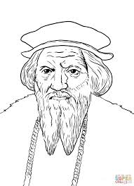 john cabot coloring page free printable coloring pages