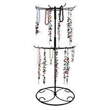necklace holder stand images Jewelry stand botitu 16 2 inch tall revolving jpg