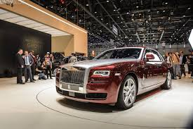 phantom ghost car rolls royce ghost series ii launching in geneva