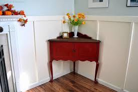 Red Corner Cabinet Helen Nichole Designs Corner Cabinet Before U0026 After